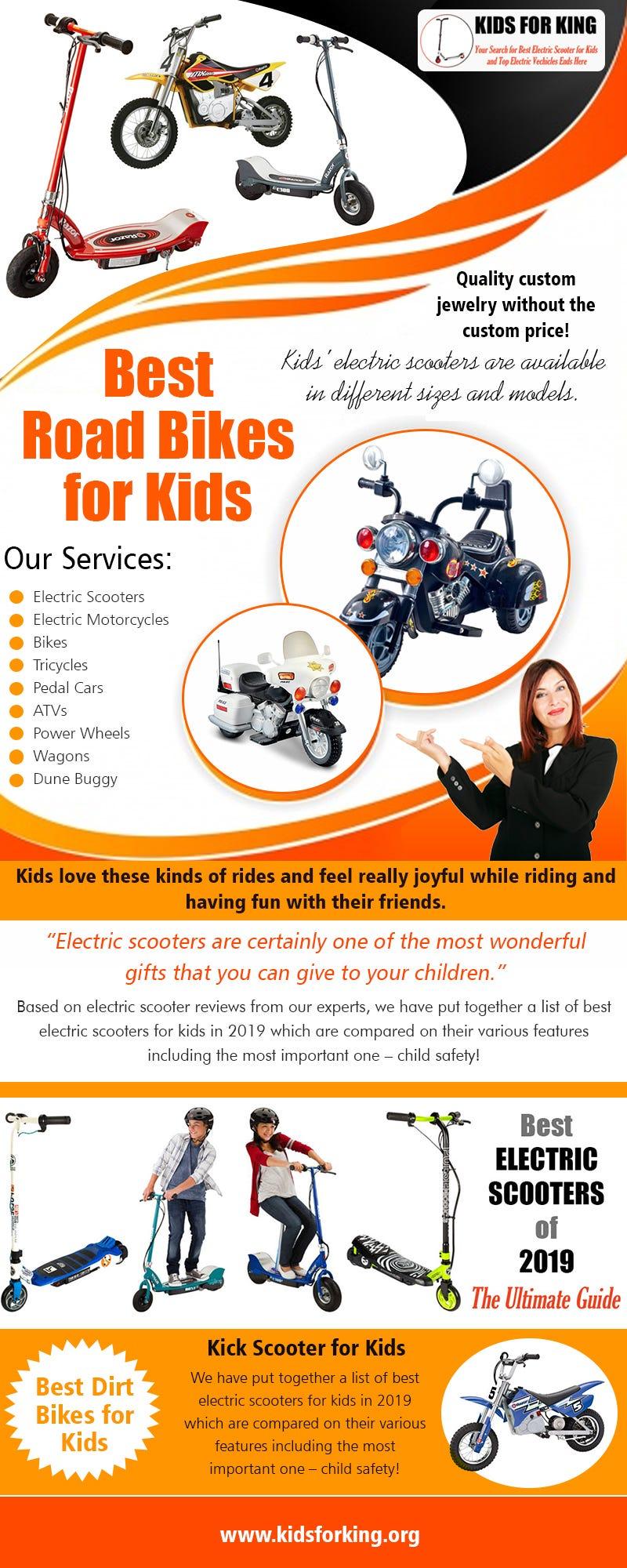 Illustration for article titled Best Road Bikes for Kids | kidsforking.org