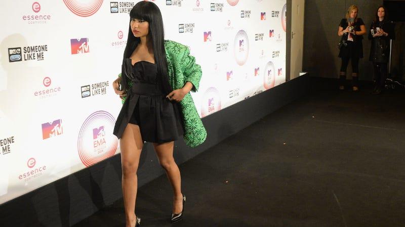 Illustration for article titled Nicki Minaj Responds to 'Nazi' Imagery Video Uproar