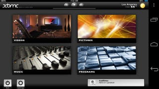Illustration for article titled Unofficial Build of XBMC for Android Allows HD Playback, Includes a Friendlier Interface