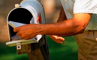 Texan voters get mail. (Thinkstock)