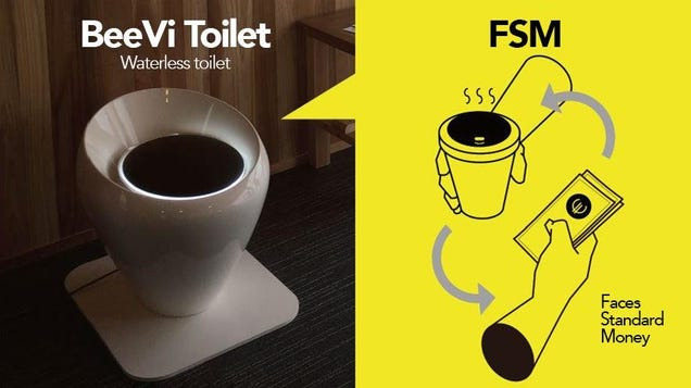 This Toilet Turns Your Crap Into Crypto