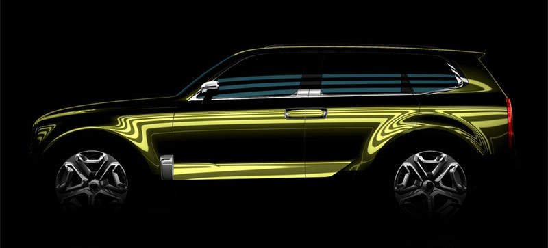 Illustration for article titled What The Hell Is This Surprise Kia SUV Concept?