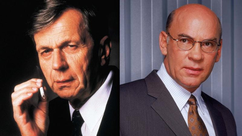 Illustration for article titled Cigarette-Smoking Man and Walter Skinner will return to X-Files