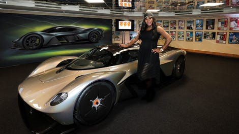 The Aston Martin Valkyrie Has 1 130 Horsepower Will Somehow Be