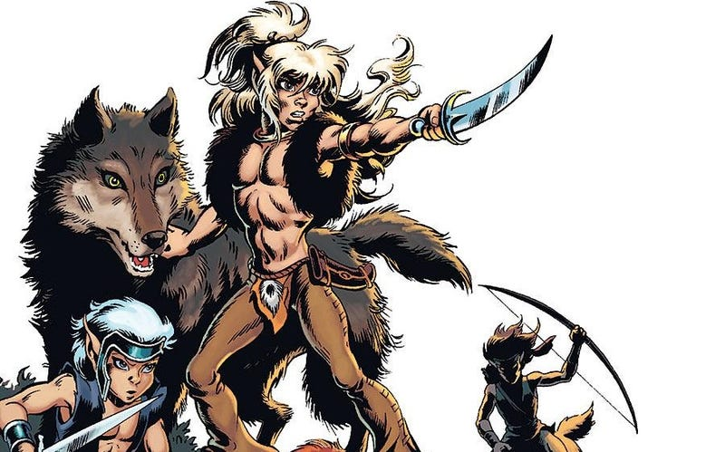 Illustration for article titled Now You Can Experience The Original ElfQuest In All Its Shiny Wonder