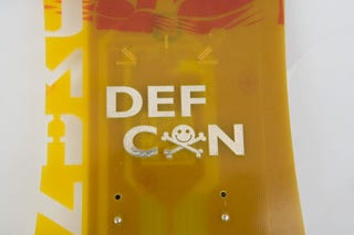Illustration for article titled Wired Previews Hackable Defcon 16 Badge