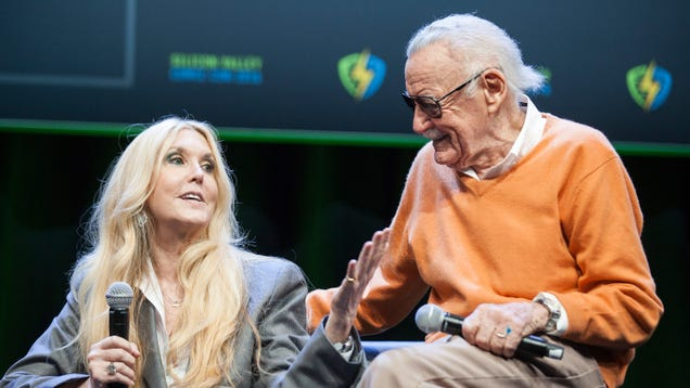 Stan Lee's daughter blasts Marvel and Disney for their apparently shabby treatment of her dad