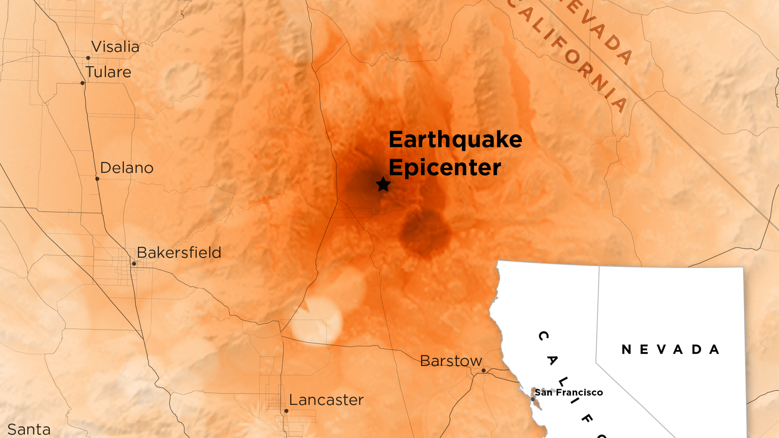 That Big California Earthquake Left a Scar That's Visible