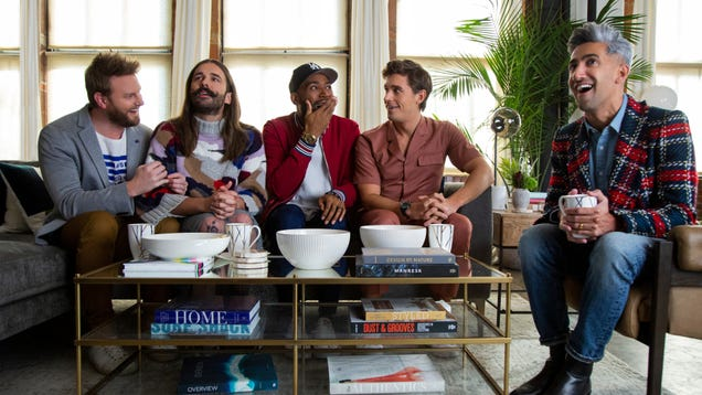 Get your tissues ready and your French tucks all tucked, for Queer Eye has returned