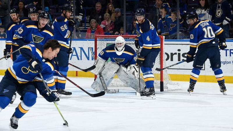 Photo courtesy of the St. Louis Blues
