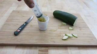 Make Homemade Pickles Almost Instantly with a Large Plastic Syringe