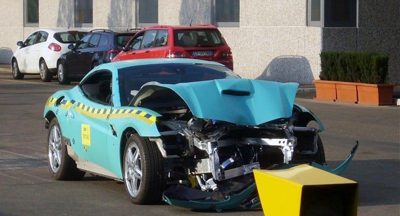 Illustration for article titled Ten Best Super Car Crash Tests