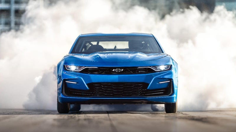 The One-Of-A-Kind Chevy eCOPO Camaro Is Going Up For Auction