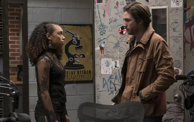 Logan Browning and John Patrick Amedor star in Dear White People