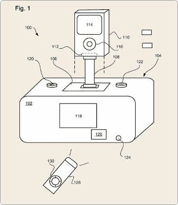 Illustration for article titled Apple Patent Shows New Hi-Fi?