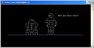 Watch Star Wars in Text via Telnet