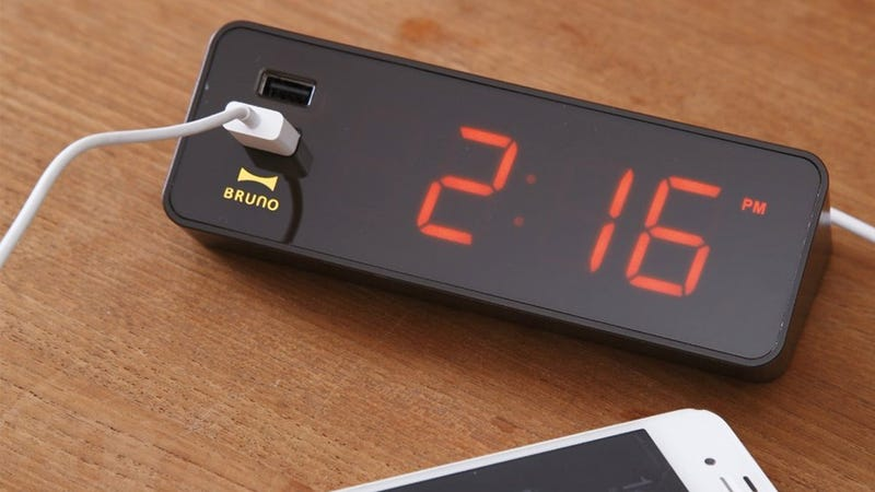 An Alarm Clock With a Feature You Actually Need: USB Ports