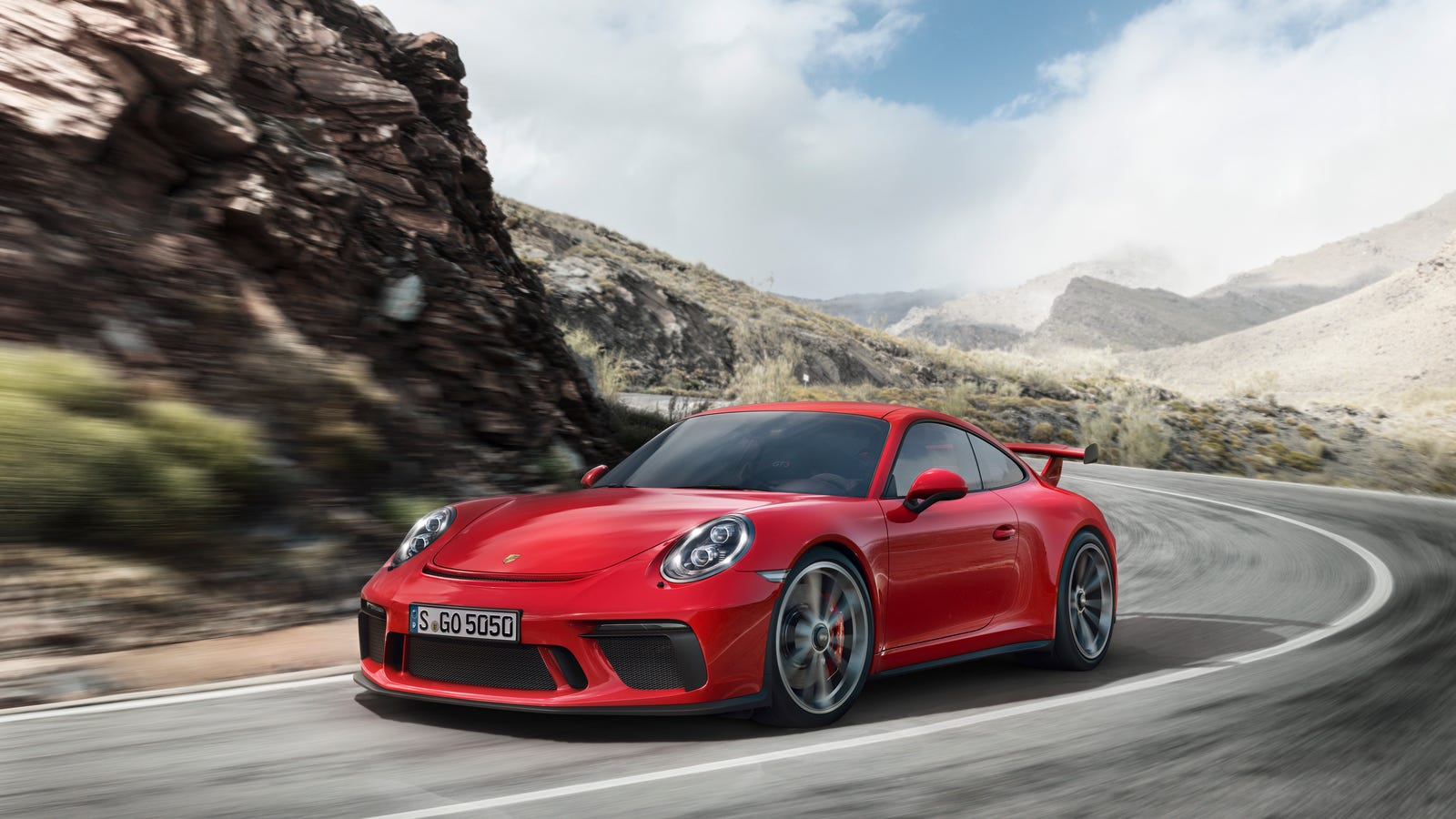2018 porsche 911 gt3 gets manual transmission and 198 mph top speed. Black Bedroom Furniture Sets. Home Design Ideas