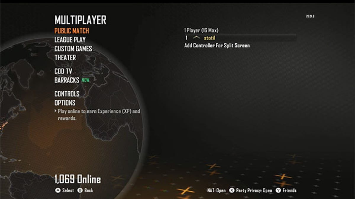 1167 People Are Playing Black Ops II Online On Wii U Now