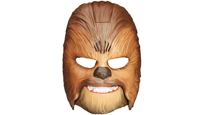 Illustration for article titled I'm Looking Forward to Bank Robbery Footage Featuring This Roaring Chewbacca Mask