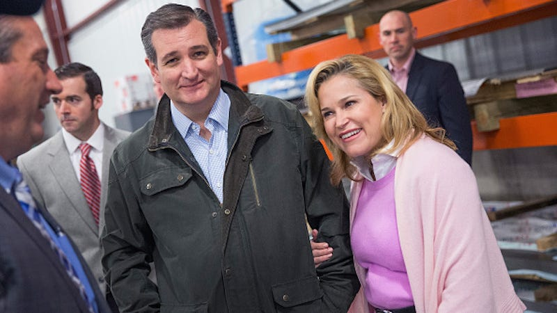 Illustration for article titled Ted Cruz: 'I Have Always Been Faithful to My Wife'