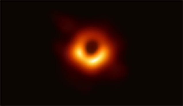 Gaze Into the Abyss: The First-Ever Photo of a Black Hole