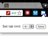 Illustration for article titled Controlled Multi-Tab Browsing Limits Your Open Tabs to Keep You Productive