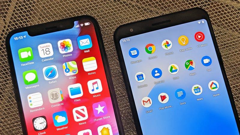 Apple Versus Google: Who's Winning the App War?