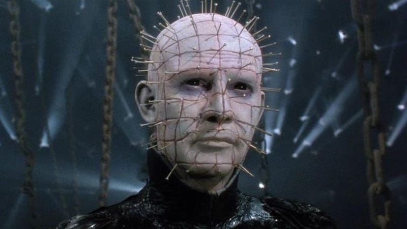 "Illustration for article titled David S. Goyer chains himself to ""dark and visceral"" Hellraiser reboot"