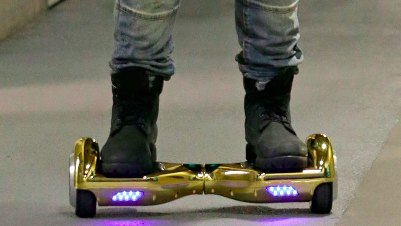 Illustration for article titled Police: Do Not Ride Your 'Hoverboard' Around the Streets of London