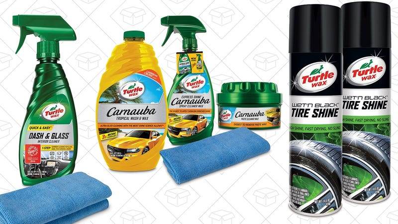 20% Off Turtle Wax Products | Amazon | Discount shown at checkout