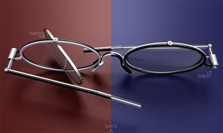 Illustration for article titled Convertible Glasses Give You Two Styles in One