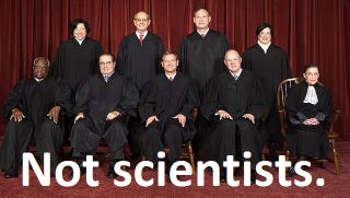 Illustration for article titled Hilariously Useless Comments About Science from the US Supreme Court