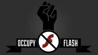 Illustration for article titled Occupy Flash Wants You to Ditch Adobe For Good