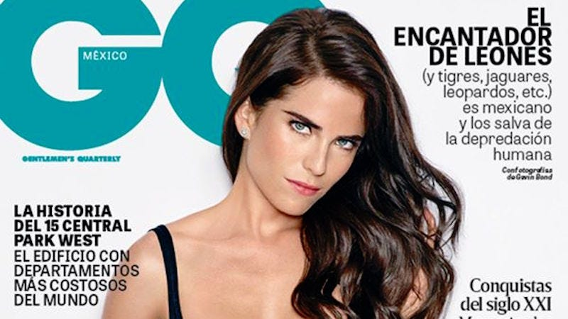Illustration for article titled HTGAWM's Karla Souza Negotiated More Clothing for GQ Mexico Cover