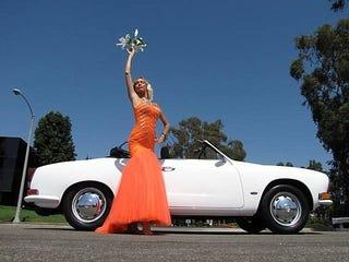 Illustration for article titled Carmen Miranda's Karmann Ghia for $9,300!