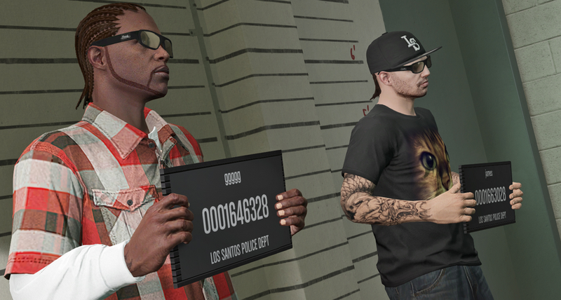 Illustration for article titled Someone Actually Tried Testing Out If GTA V Cops Are 'Racist'