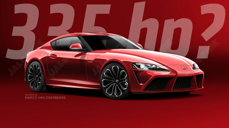 Illustration for article titled Leaked BMW Model Codes Document Suggests Upcoming Supra Will Not Get A Manual And Will 'Only' Have 335 Horsepower