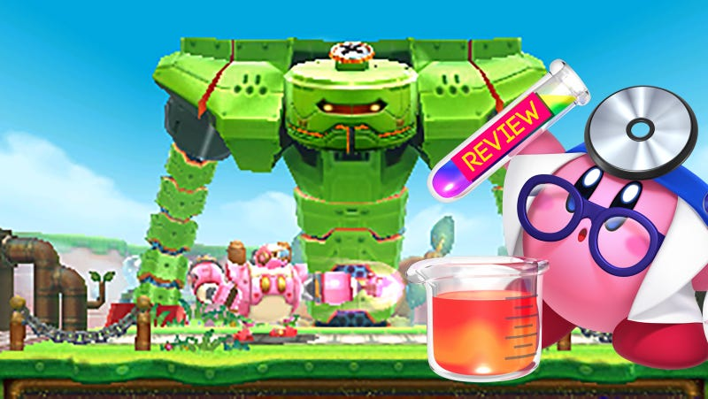 Illustration for article titled Kirby: Planet Robobot: The Kotaku Review
