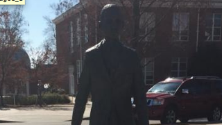Three members of the Sigma Phi Epsilon fraternity tied a noose, and draped the Confederate flag, around the neck of the statue of James Meredith, authorities say. Meredith was the university's first African-American student after the school integrated and began admitting black students in 1962.Tyler Carter/The Root