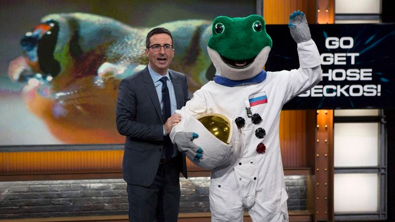 Illustration for article titled John Oliver's ratings have now surpassed Bill Maher's