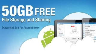 Illustration for article titled Grab 50GB of Free Storage for Life on Box by Using the Android App