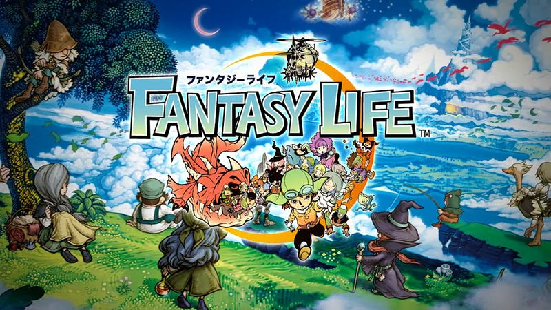 Illustration for article titled Fantasy Life Mixes Animal Crossing with Final Fantasy