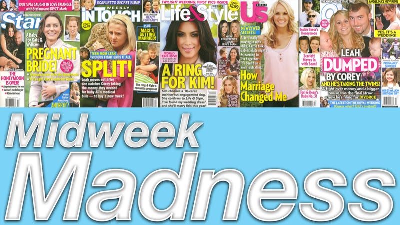 Illustration for article titled This Week In Tabloids: Kate Middleton May Already Be Pregnant
