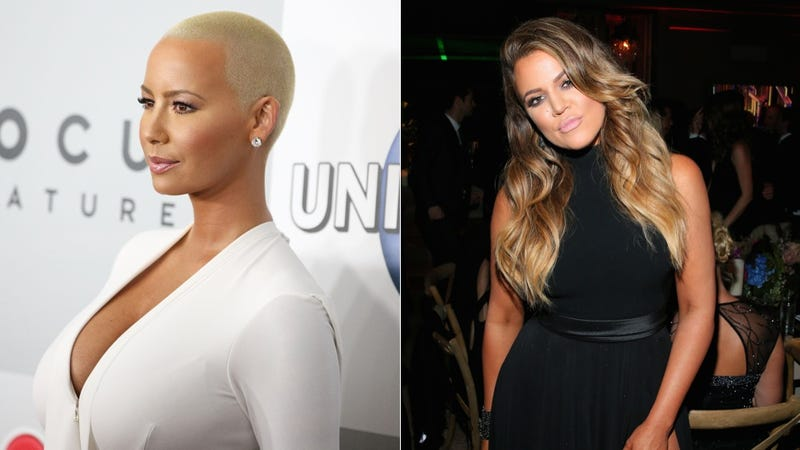 Illustration for article titled Khloe Kardashian to Amber Rose: 'Please Stop' Talking About My Family
