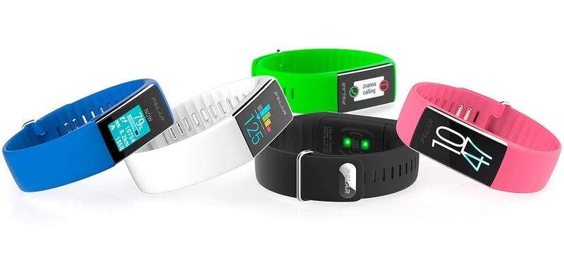 Illustration for article titled Polar Now Puts Heart Rate Monitoring On Your Wrist With Its New A360 Fitness Tracker