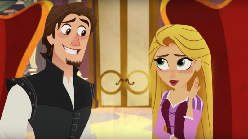 Illustration for article titled The Tangled TV Movie Actually Looks Pretty Damn Cute