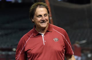 Illustration for article titled Tony La Russa Tries To Convince Us That The Diamondbacks Aren't Assholes