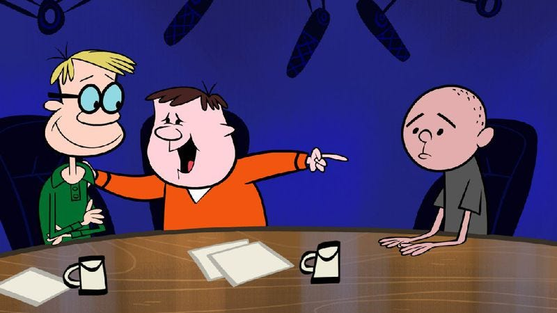 Illustration for article titled The Ricky Gervais Show