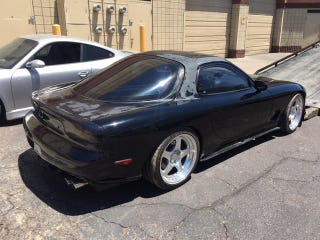 Neal's Mazda RX-7 in bad shape after time spent at a repair shop